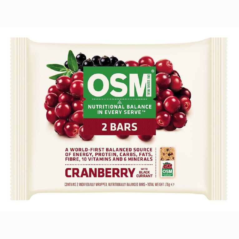 One Square Meal Cranberry 170g 2 Pack, , hi-res