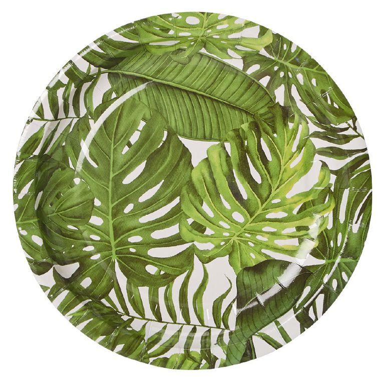 Party Inc Tropical Paper Side Plates 18cm 8 Pack, , hi-res