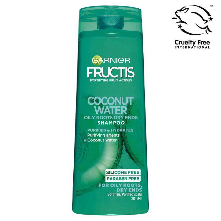 Garnier Fructis Coconut Water Shampoo 315ml, , hi-res
