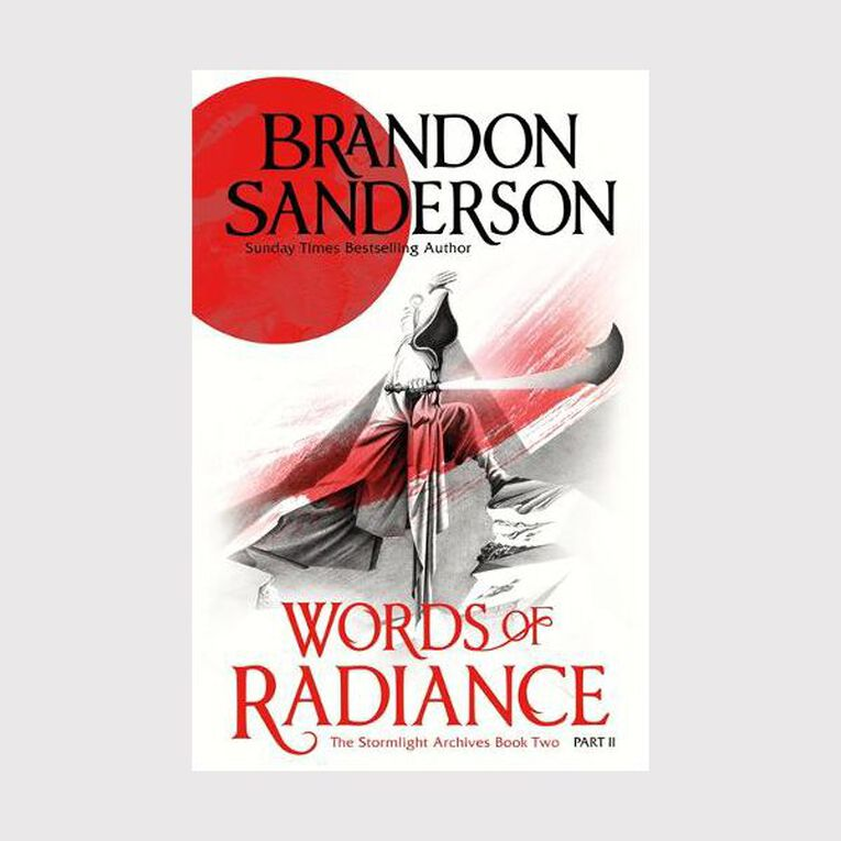 Words of Radiance Part Two by Brandon Sanderson, , hi-res