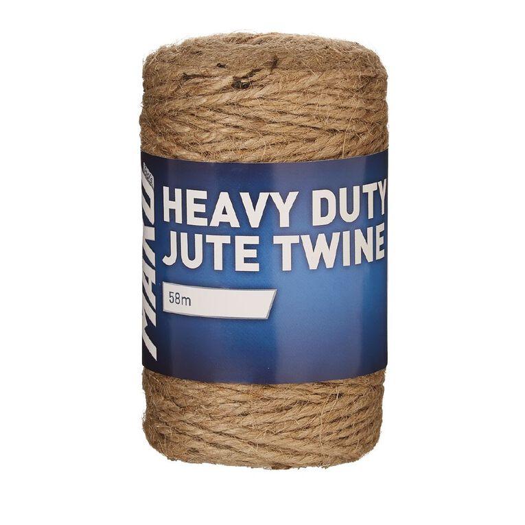 Mako Heavy Duty Jute Twine 58m, , hi-res