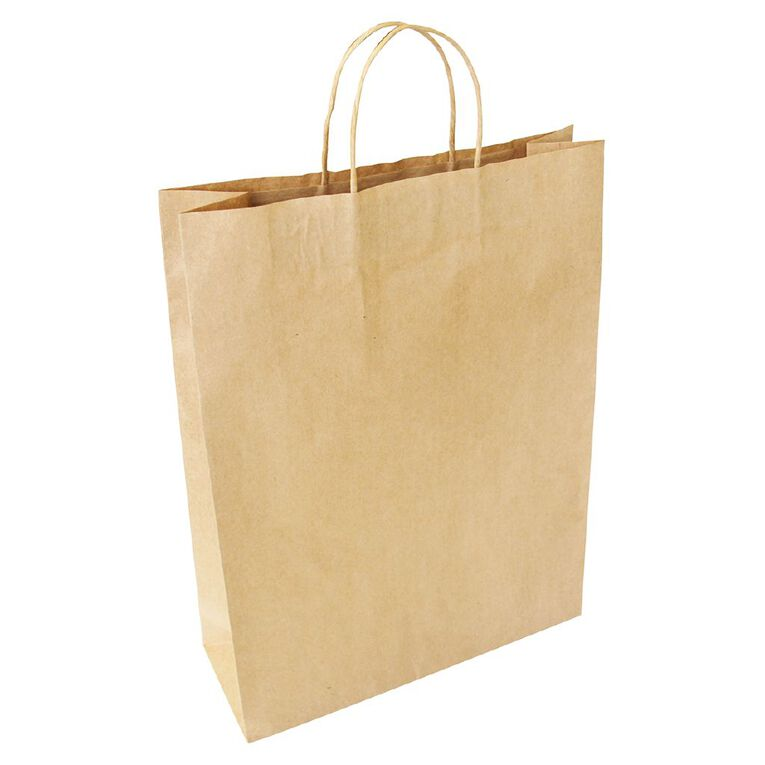 Large Twisted Handle Paper Bag 25 Pack, , hi-res