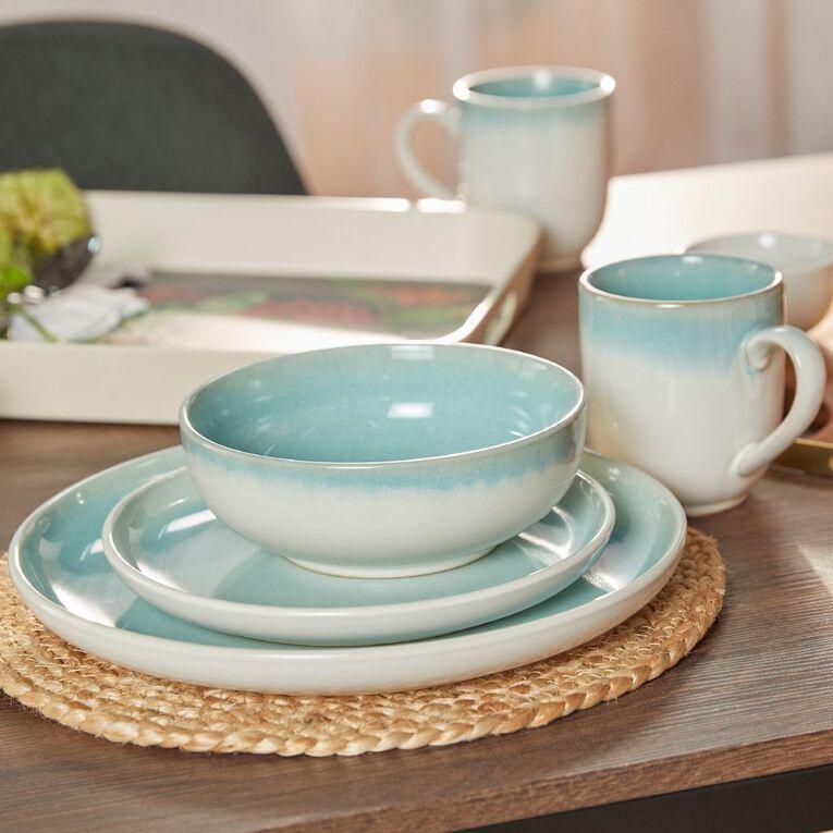 Living & Co Kina Ocean Side Plate Turquoise, , hi-res