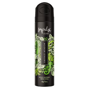 Impulse Luxe Body Spray Emerald Meadow 75ml