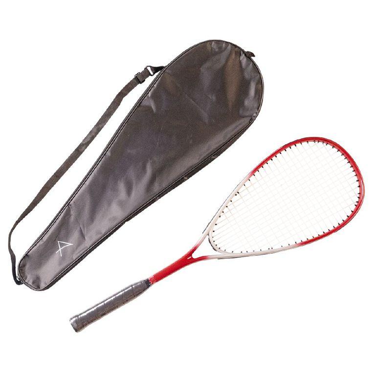 Active Intent Squash Racket Graphit Aluminium Red Red, , hi-res