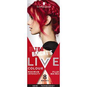 Schwarzkopf Live Colour Ultra Brights Pillar Box Red