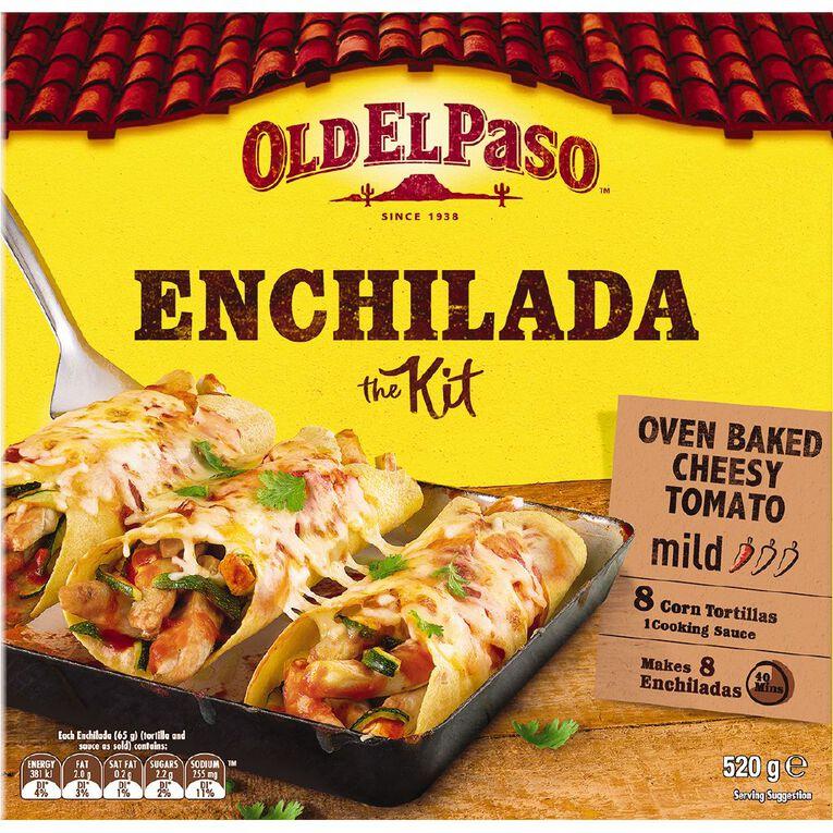 Old El Paso Tortilla Kit Enchilada 520g, , hi-res