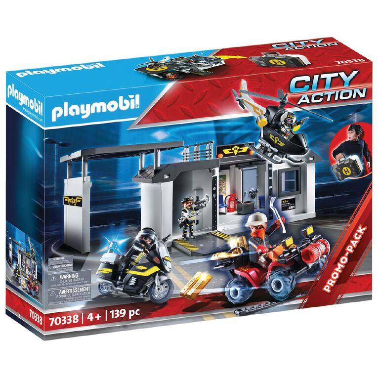 Playmobil Take Along Tactical Unit Headquarters, , hi-res