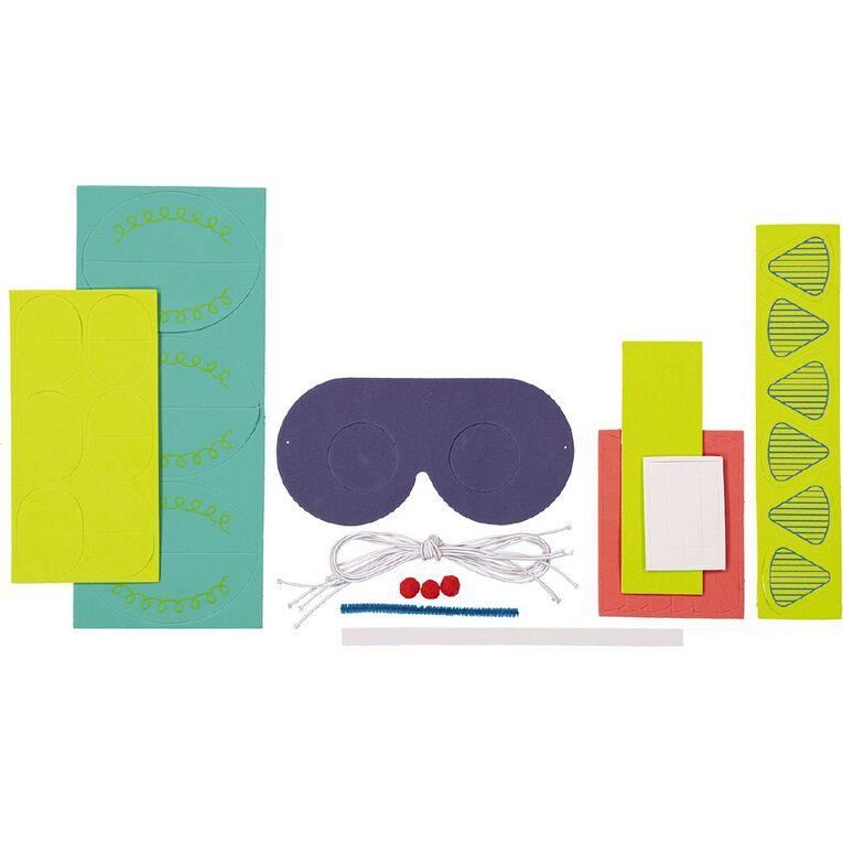 Kookie Foam Fun Glasses Accessory Pack Robot, , hi-res