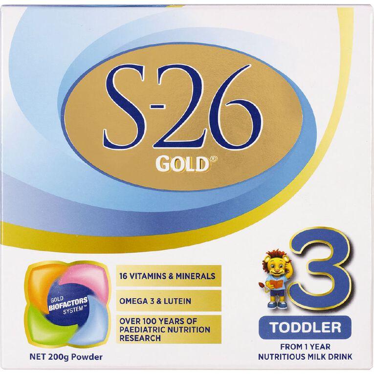 S26 Gold Toddler 200g, , hi-res