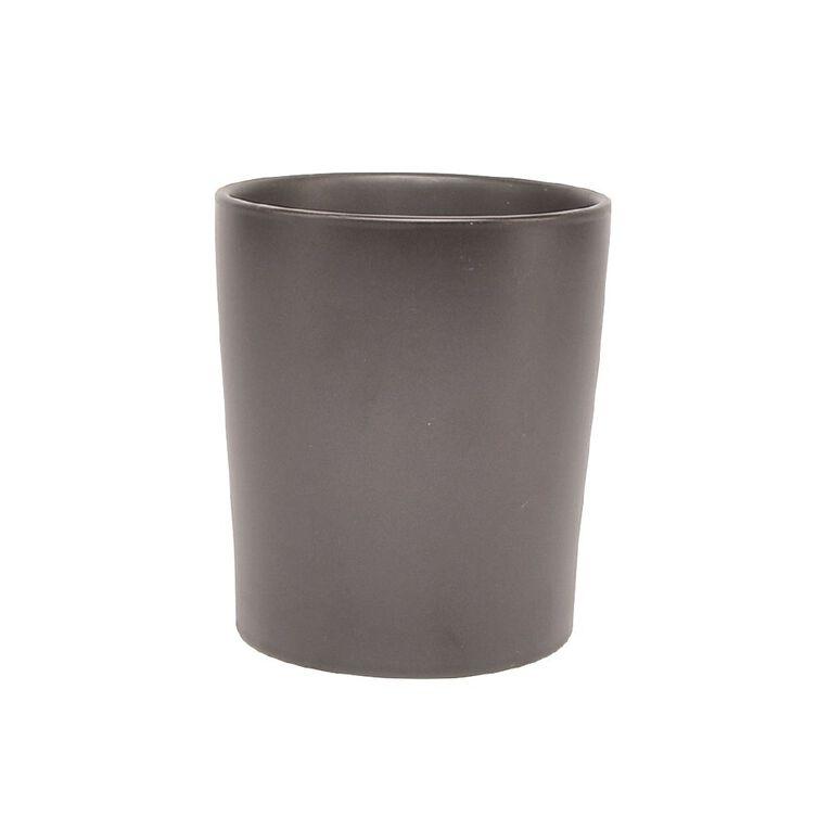 Kiwi Garden Cape Reinga Pot Black 14cm, , hi-res