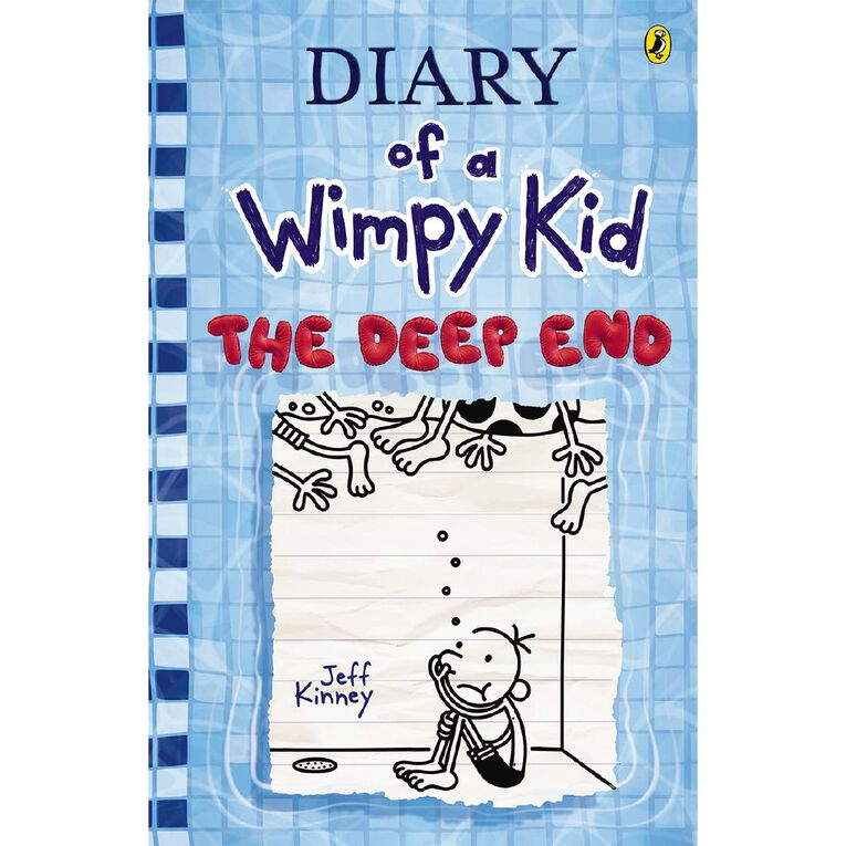 Wimpy Kid #15 The Deep End by Jeff Kinney, , hi-res
