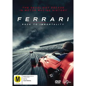 Ferrari Race To Immortality DVD 1Disc