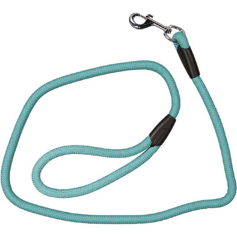 Petzone Dog Reflective Rope Lead Aqua, , hi-res