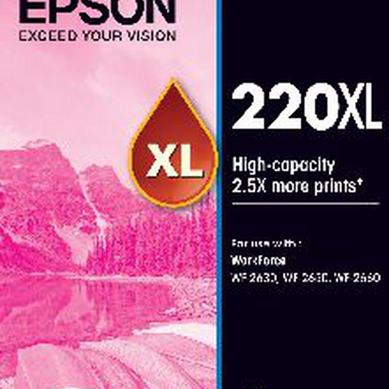 Epson Ink 220XL Magenta (450 Pages), , hi-res