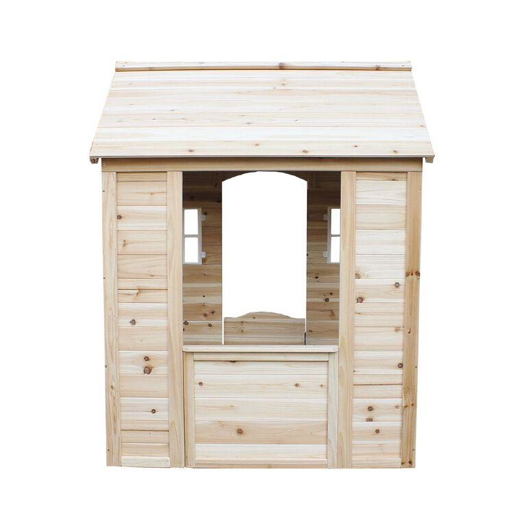 Active Intent Play Wooden Playhouse, , hi-res image number null