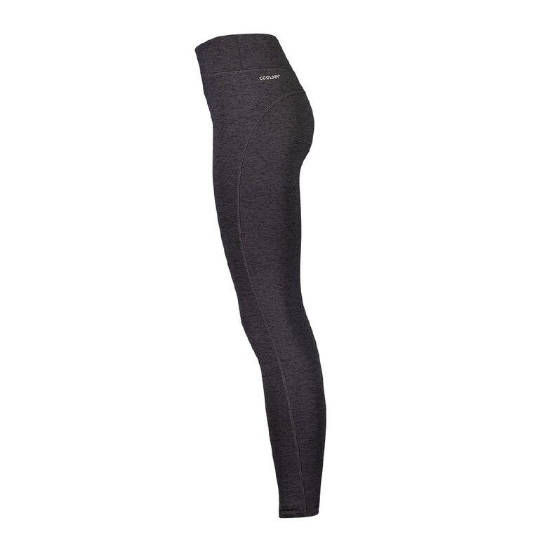 Active Intent Women's Cosy Full Length Leggings, Grey Dark, hi-res