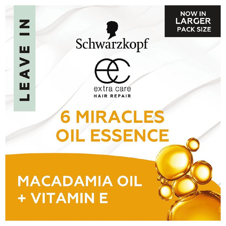 Schwarzkopf Extra Care 6 Miracles Oil Essence 100ml, , hi-res