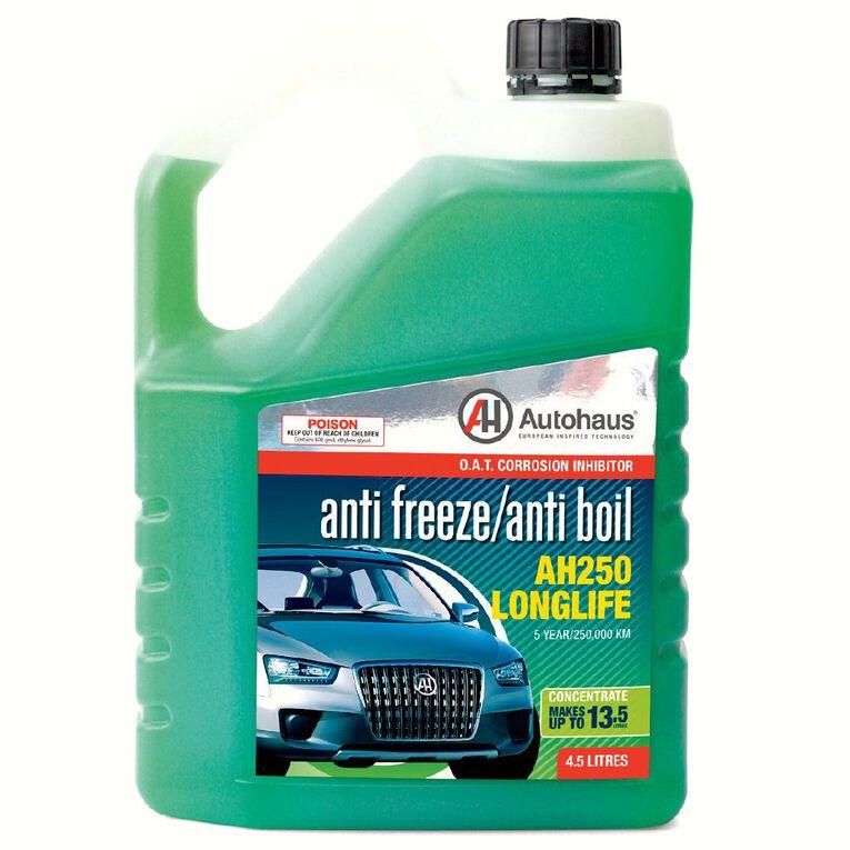 Autohaus Anti-Freeze/Anti-Boil Concentrate AH250 4.5L, , hi-res