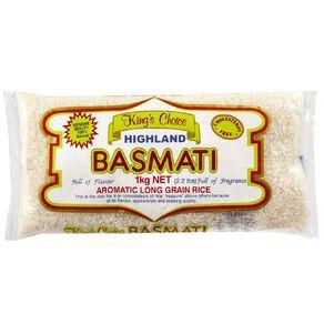Kings Choice Basmati Rice 1kg