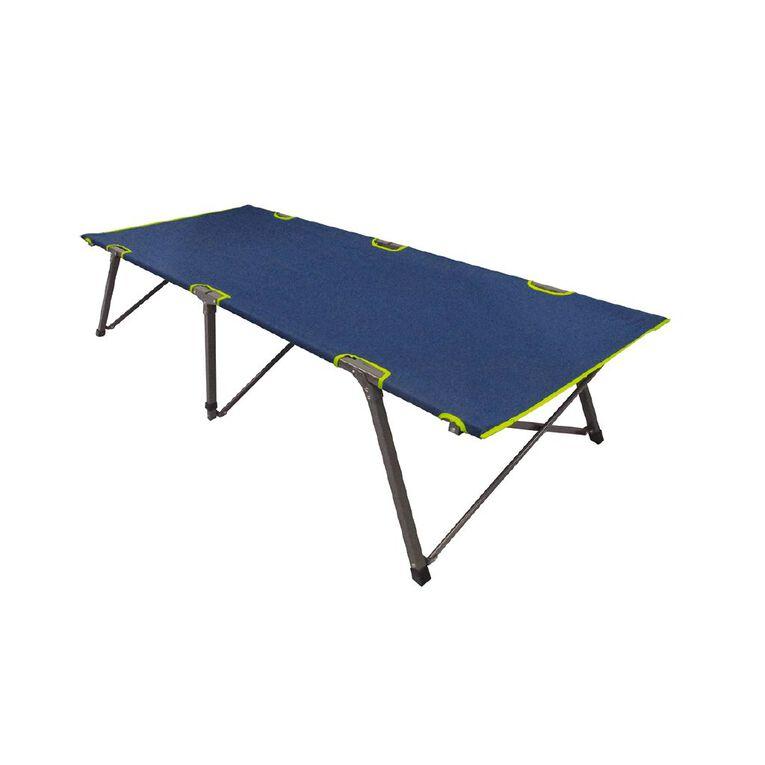 Navigator South Folding Camp Bed Single, , hi-res