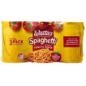 Wattie's Spaghetti Handypack 420g