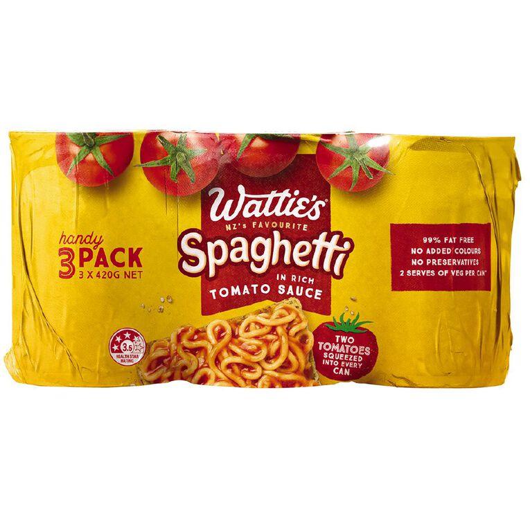 Wattie's Spaghetti Handypack 420g, , hi-res