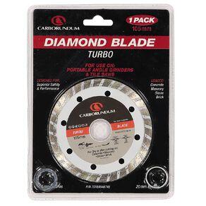 Carborundum Turbo Diamond Blade 105mm