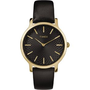 Timex Metropolitan Leather 34mm Watch