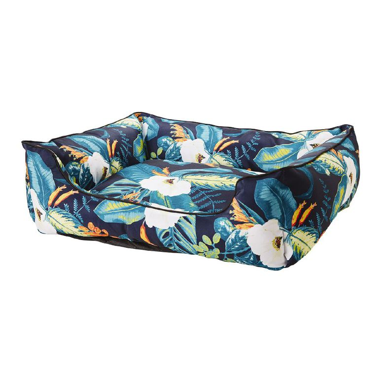 Petzone Rectangle Outdoor Bed Large in Floral Print, , hi-res