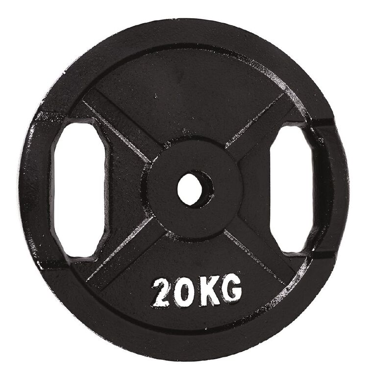 Active Intent Fitness Cast Iron Weight 20kg, , hi-res