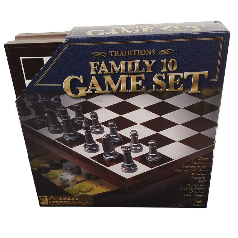 Traditions Family 10 Set Game, , hi-res