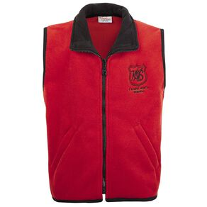 Schooltex Kaiapoi North Polar Fleece Vest with Embroidery