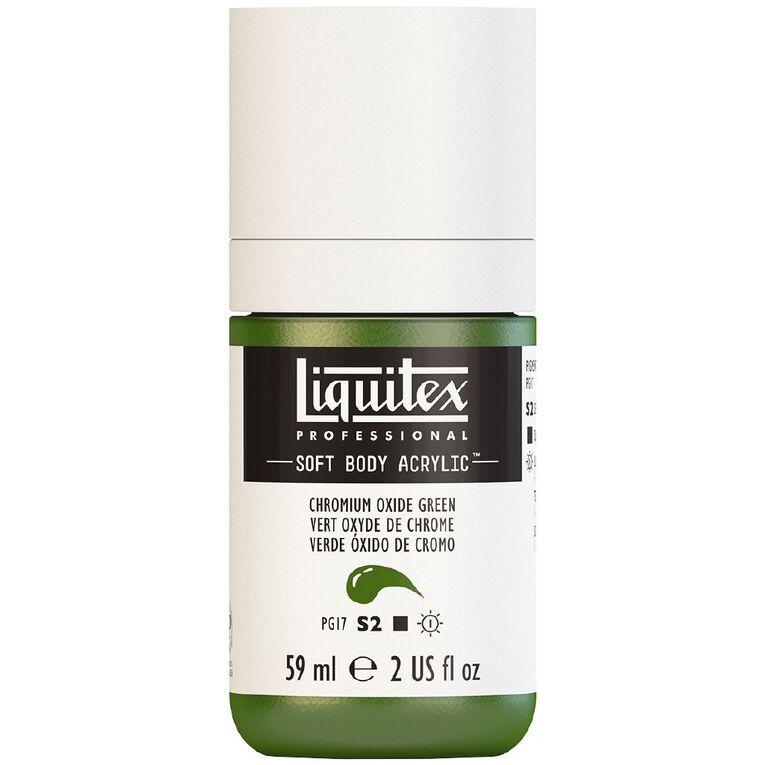 Liquitex Soft Body Acrylic 59ml Chrom Oxide Green S2, , hi-res