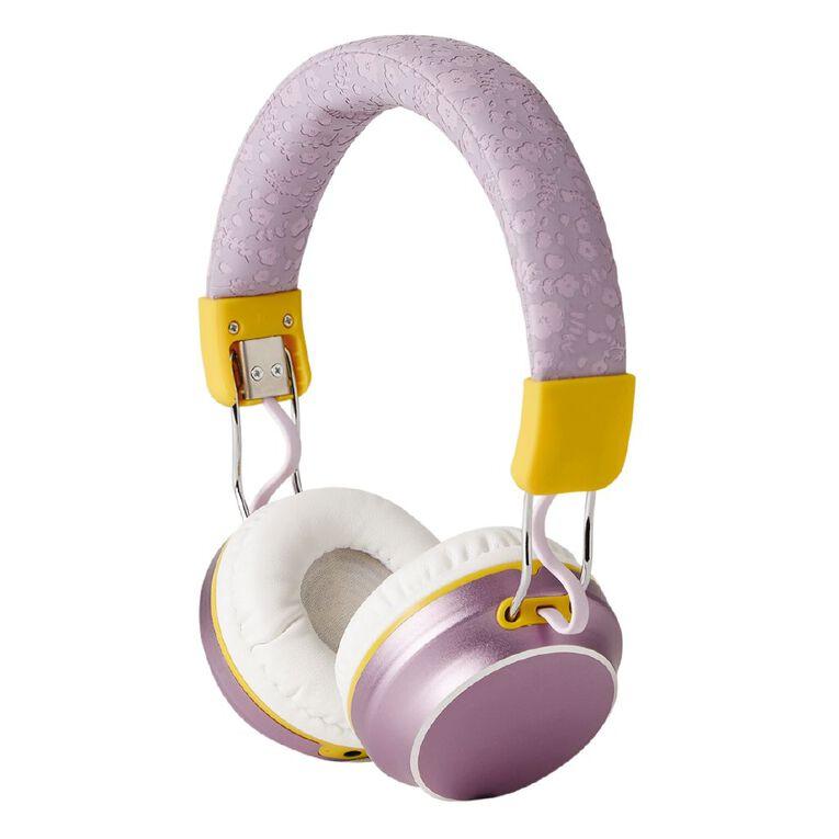 Botanic Geo Wireless Headphone Lavendar, , hi-res