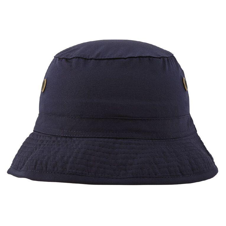 Schooltex Bucket Hat, Navy, hi-res