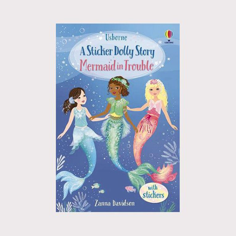Sticker Dolly Stories #3 Mermaid in Trouble by Zanna Davidson, , hi-res