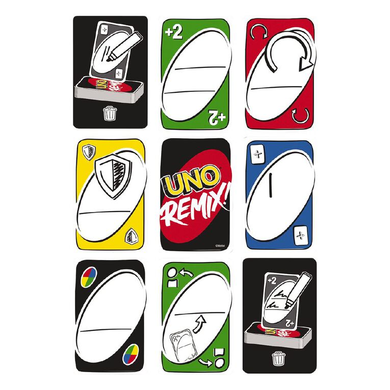 UNO Remix Card Game, , hi-res