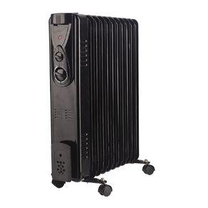 Living & Co Oil Heater 11 Fin 2400W Black