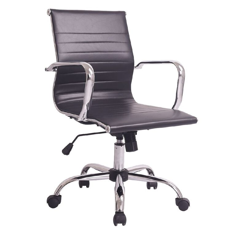 Workspace Replica Eames Office Chair Black, , hi-res