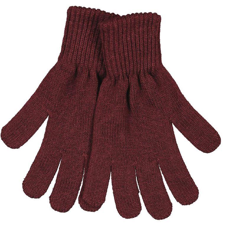 H&H Essentials Entry FF Gloves, Burgundy, hi-res