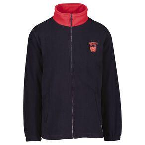 Schooltex Pukekohe Intermediate Full Zip Polar Fleece Jacket