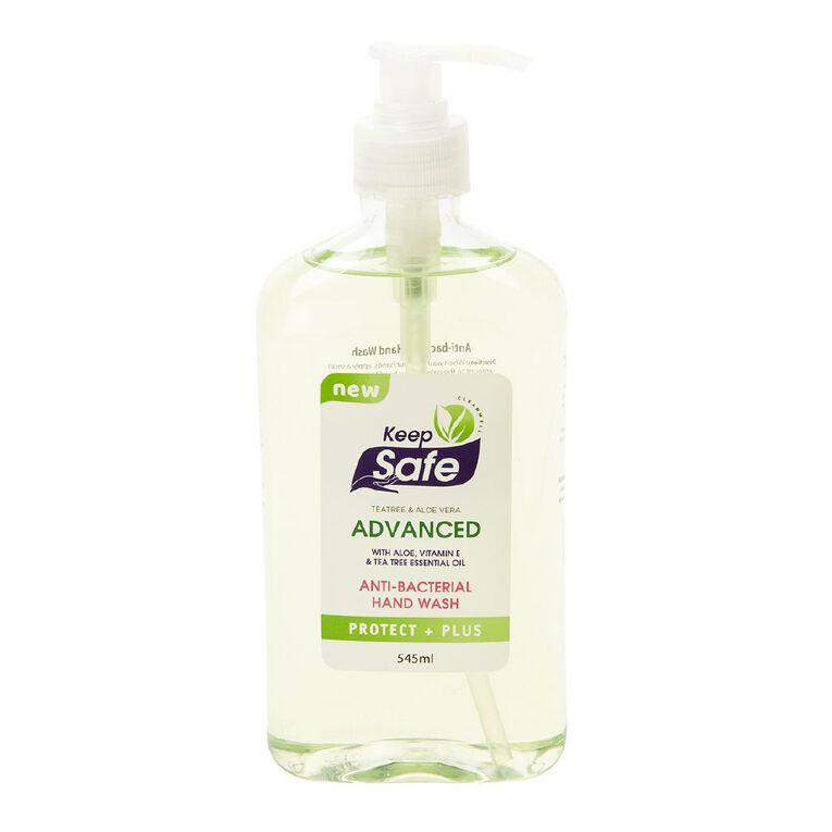 Keep Safe Antibacterial Hand Wash Pump 545ml, , hi-res