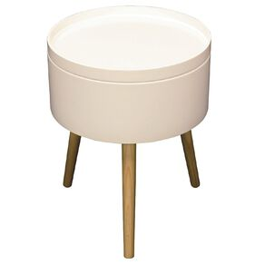 Living & Co Alyssa Side Table White