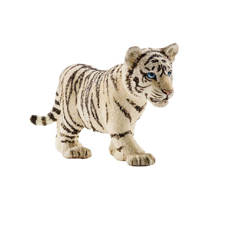 Schleich Tiger Cub White, , hi-res image number null