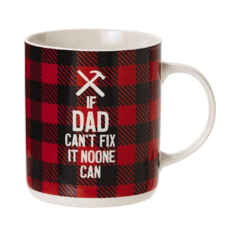 Living & Co DIY Dad Mug Multi-Coloured, , hi-res