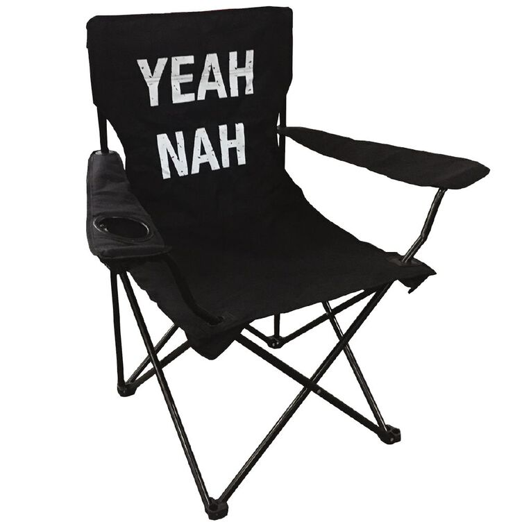 Yea Nah Camping Chair, , hi-res