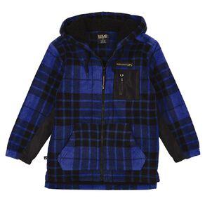 Back Country All Over Print Sherpa Hood Sweatshirt
