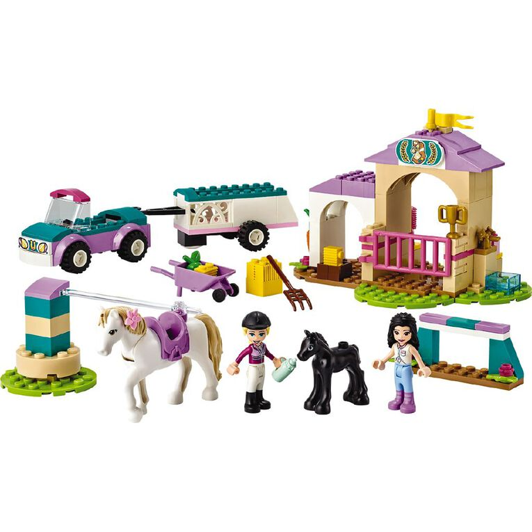 LEGO Friends Horse Training and Trailer 41441, , hi-res