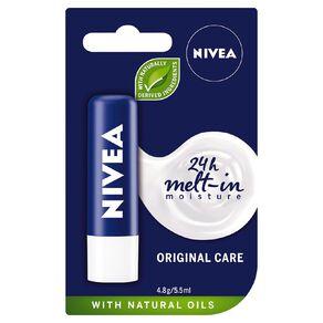 Nivea Care Original Lip Balm 4.8g